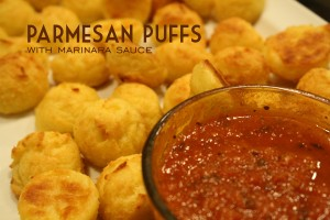 Recipe: Parmesan Puff Bites From the Family With Love