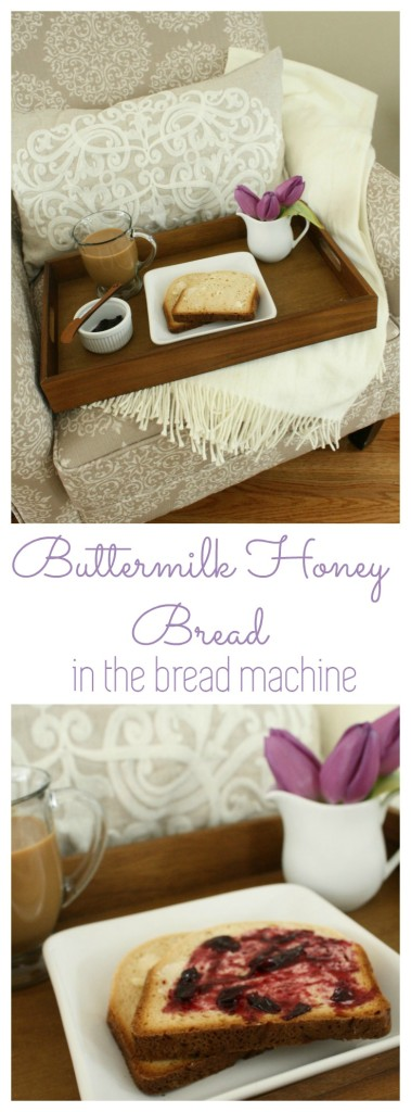 Recipe Buttermilk Honey Bread (bread machine) From the Family With Love