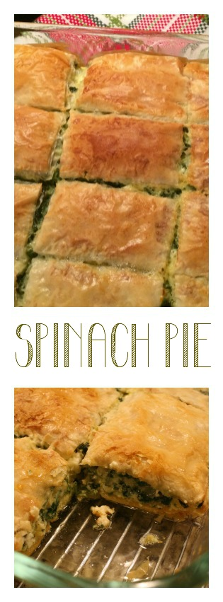 Spinach Pie Recipe From the Family With Love Pinterest