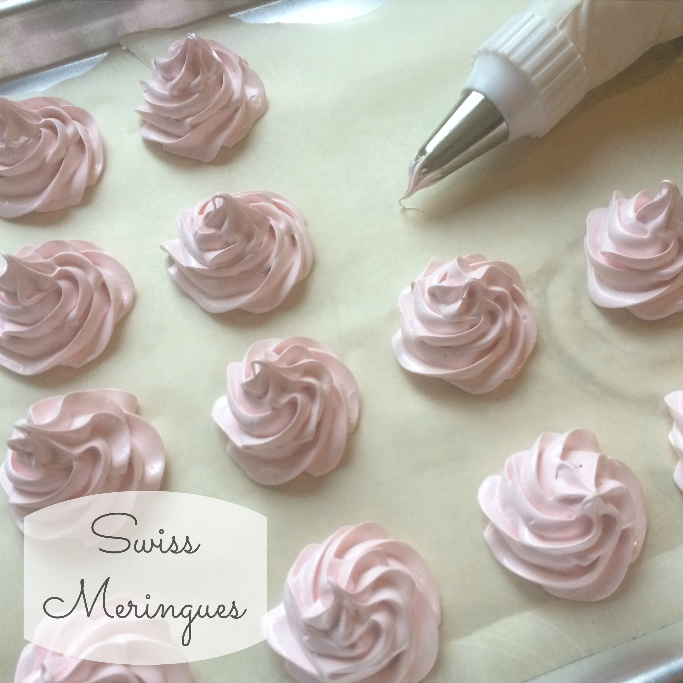Heart Shaped Meringue Cake
