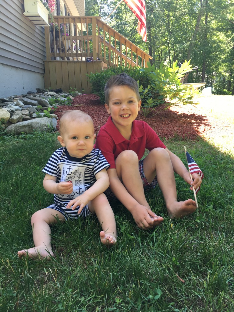 Favorite Outfit of the Week 4th of July Gymboree boys outfits Red White and Blue From the Closet From the Family With