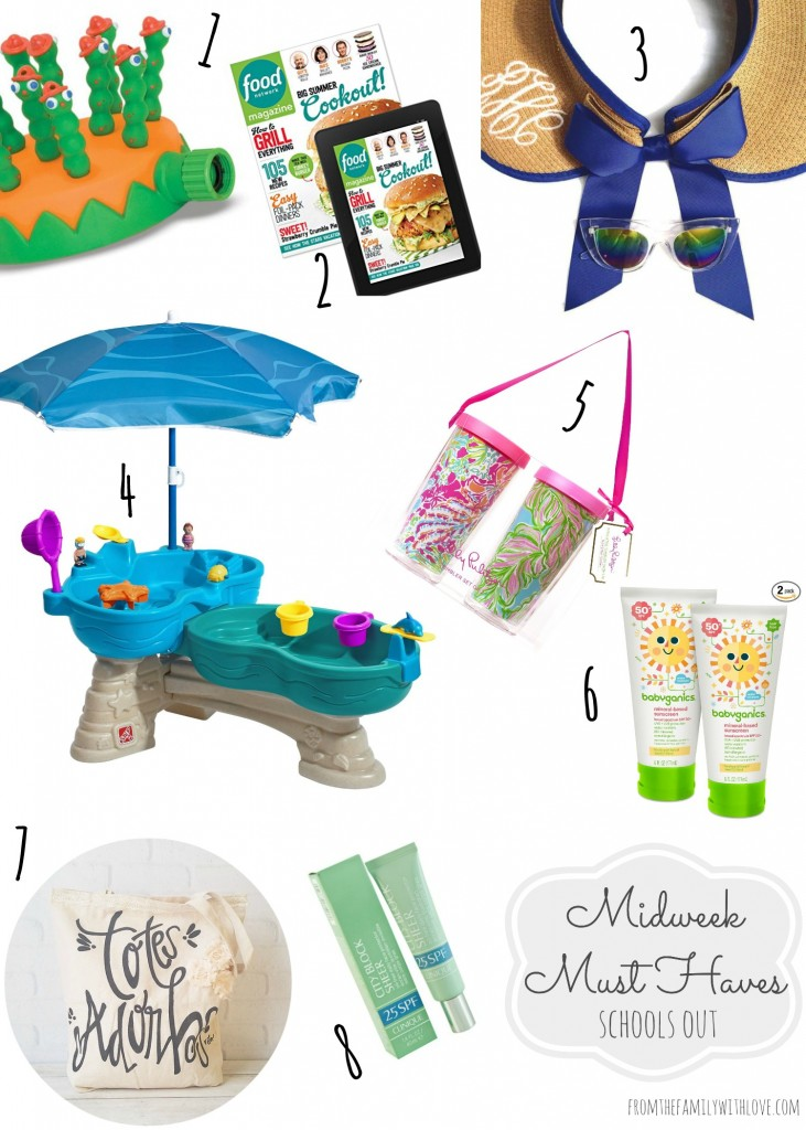 Midweek Must Haves Schools Out gift guide From the Family With Love