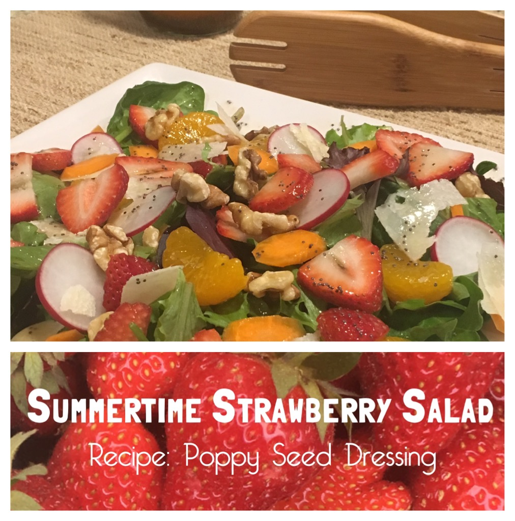 Ladies who Lunch: Summertime Strawberry Salad with Poppy ...