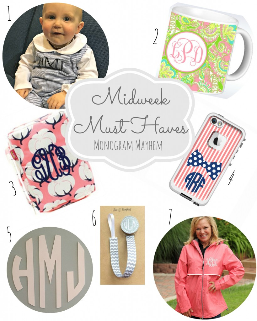 Midweek Must Haves 3 Monogram Mayhem Gift Guide From the Family With Love