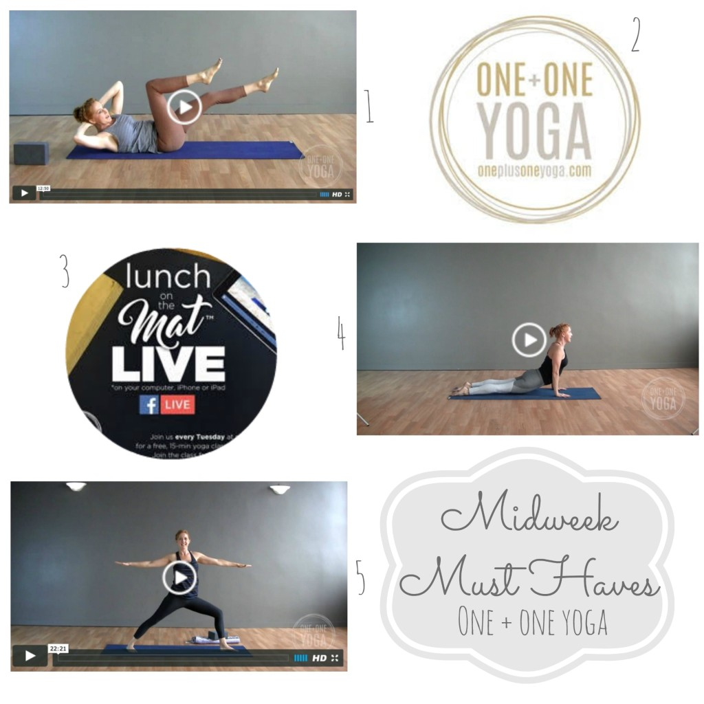 Midweek Must Haves One + One Yoga From the Family With Love