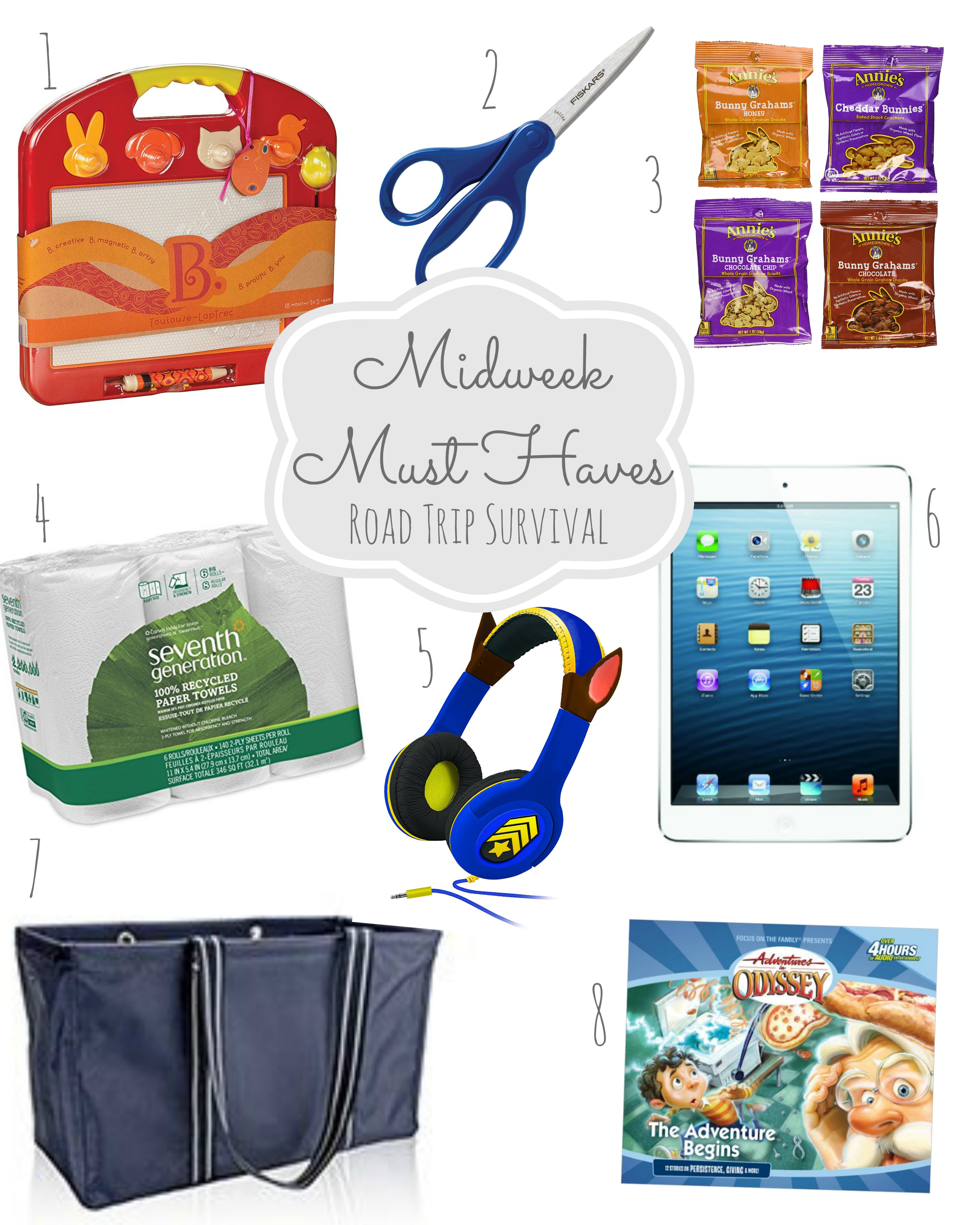 midweek must haves #5: road trip survival guide - from the family