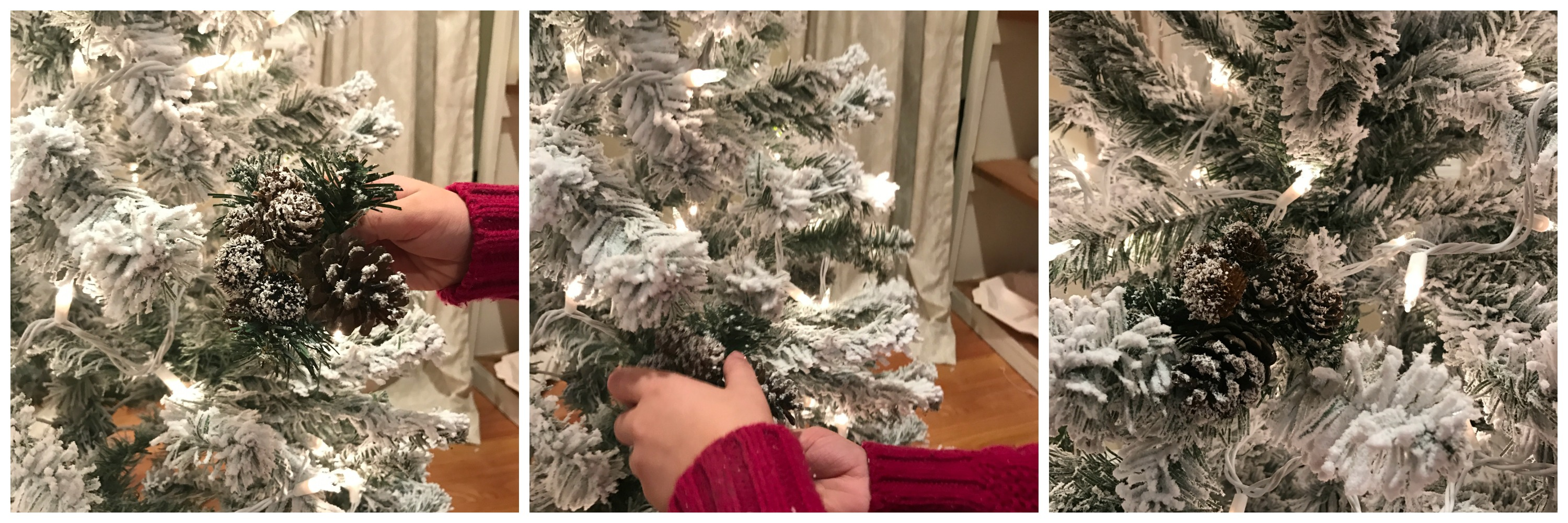White Christmas Create A 6' Flocked Christmas Tree For Under 40  - 6 White Christmas Tree