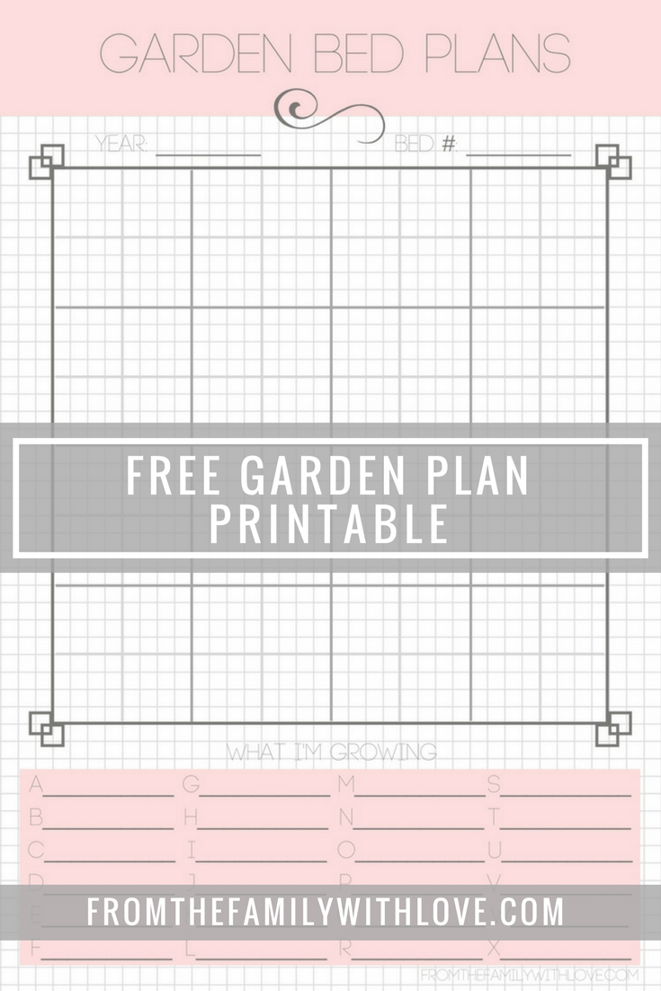 free printable garden planner how does your garden grow