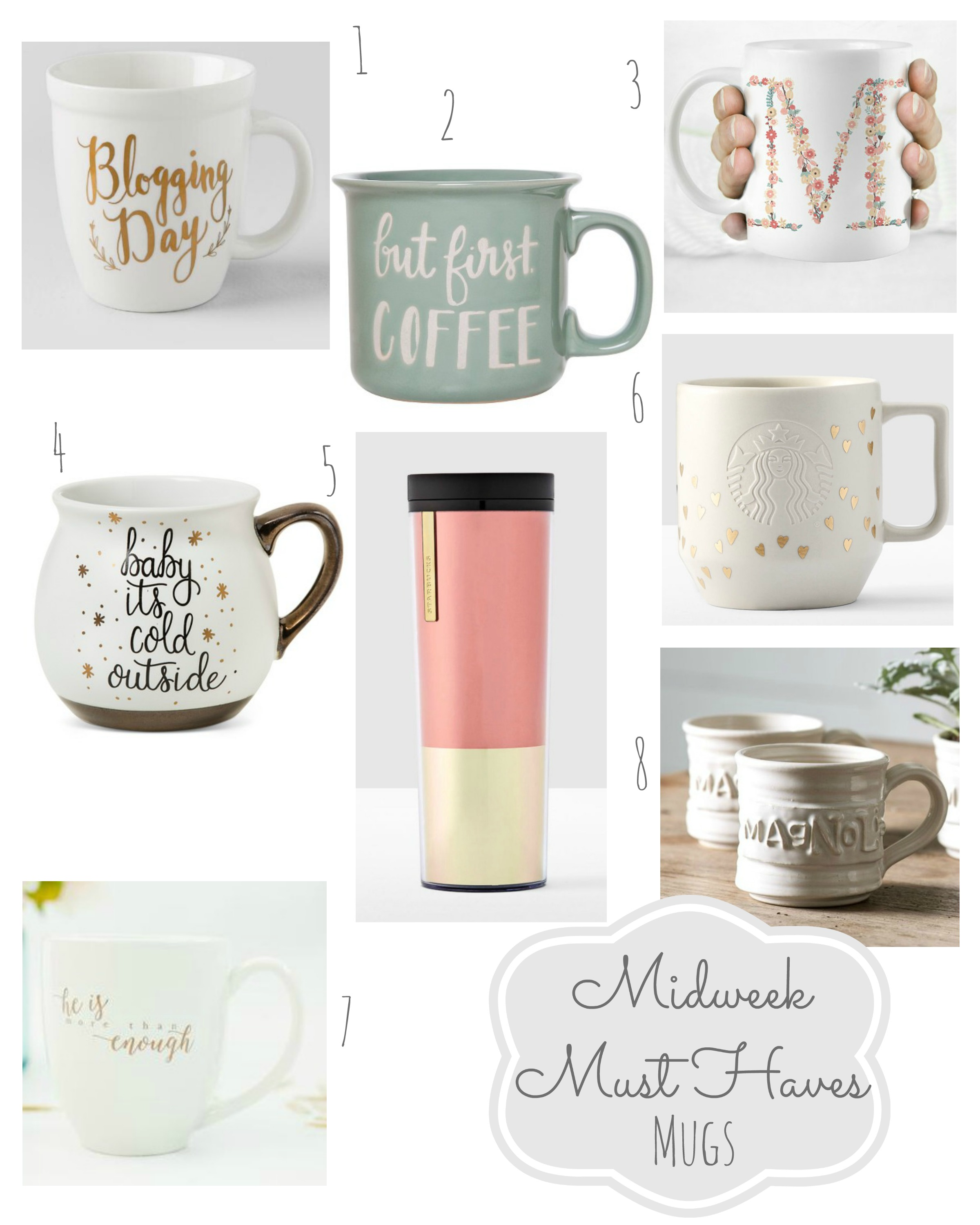 Midweek Must Haves Mugs Coffee Cups Gift Guide From the Family With Love main2