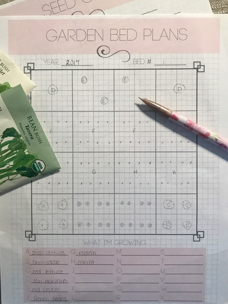 {Free Printable Garden Planner} How Does Your Garden Grow ... on Backyard Layout Planner id=30532