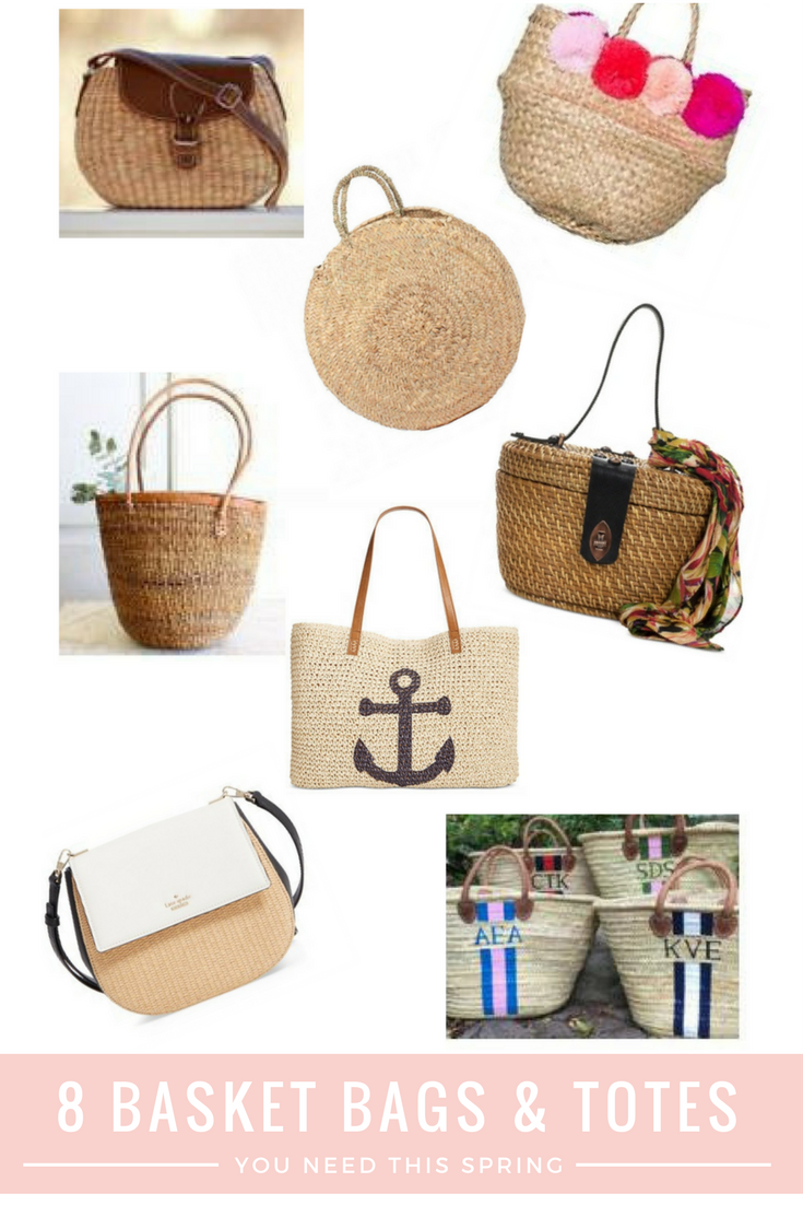 Midweek Must Haves Basket Bag Roundup From the Family With Love