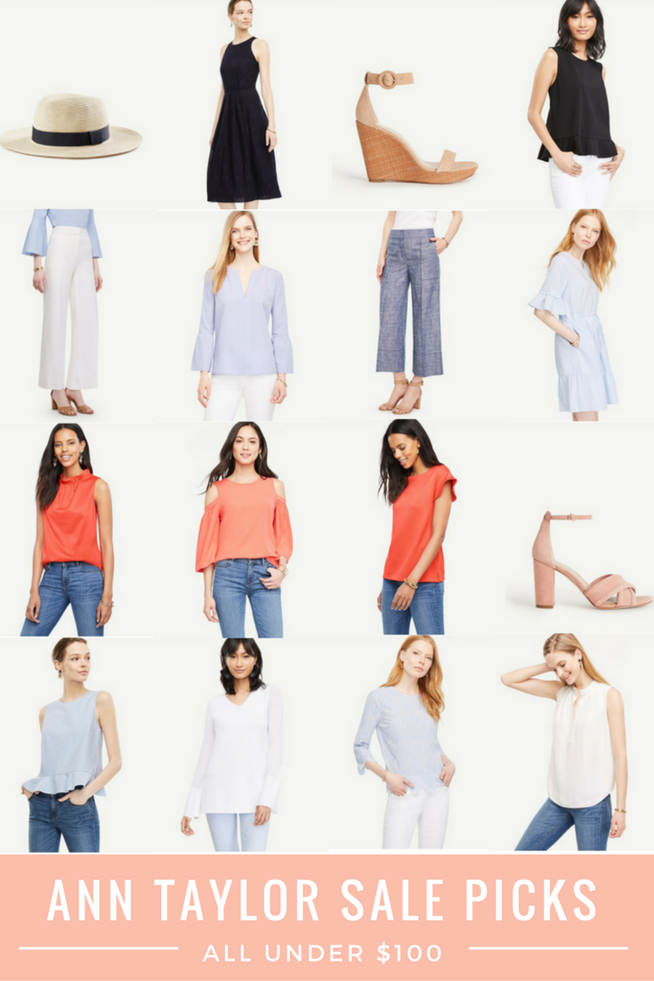 Ann Taylor Sale Picks All Under $100 Pinterest