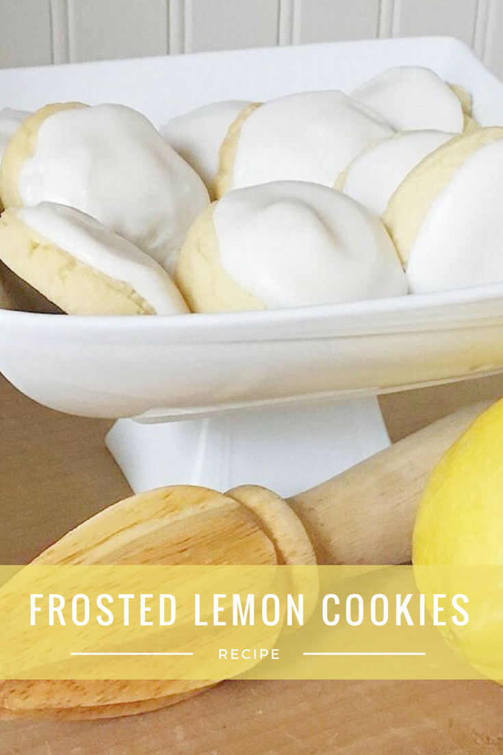 Lemon Frosted Cookies Recipe - From the Family With Love