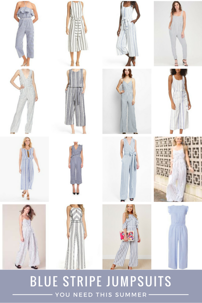 Blue Stripe Jumpsuits you need this summer - From the Family With Love {From the Closet}-6