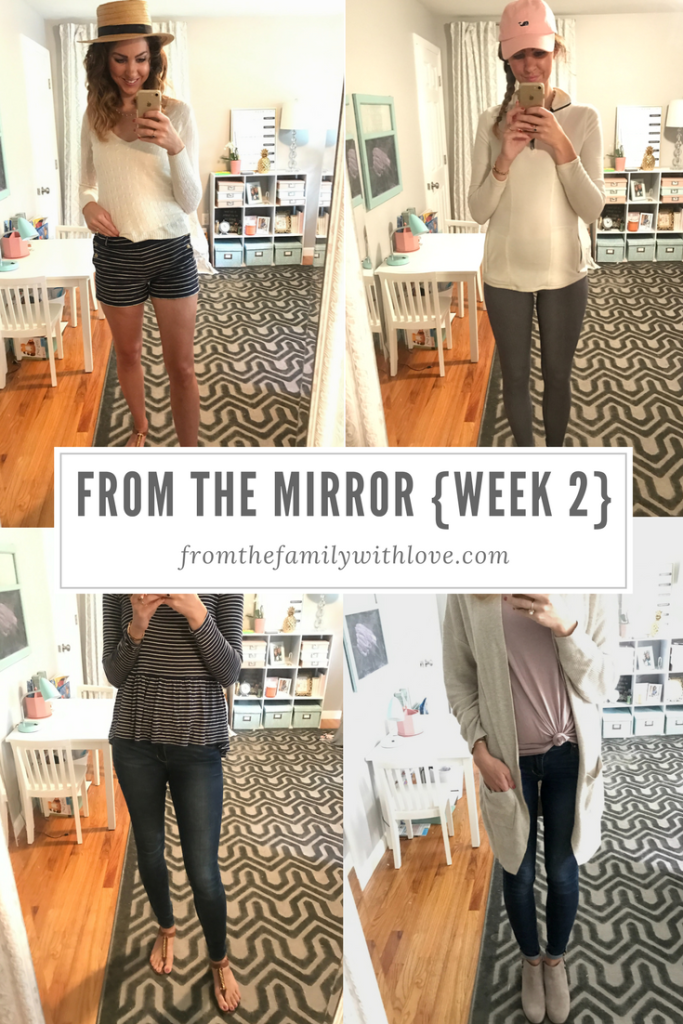 From the Mirror - week 2 - a weeks worth of daily preppy, mom, fall, fashion ideas - From the Family with Love