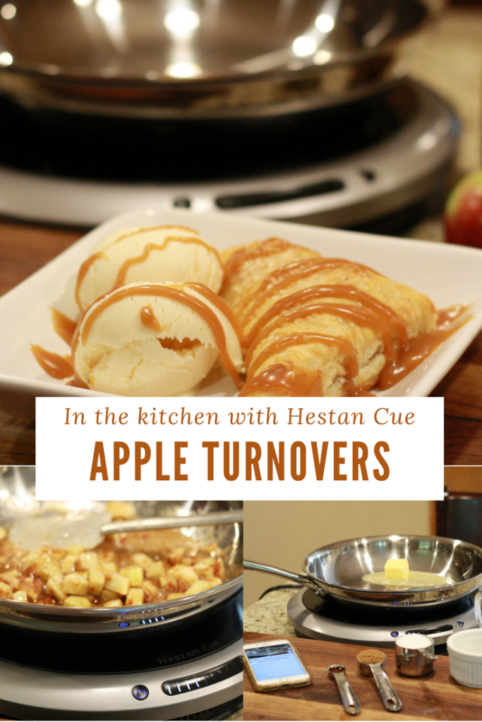 In the kitchen with Hestan Cue - Recipe Apple Turnovers - From the Family with Love