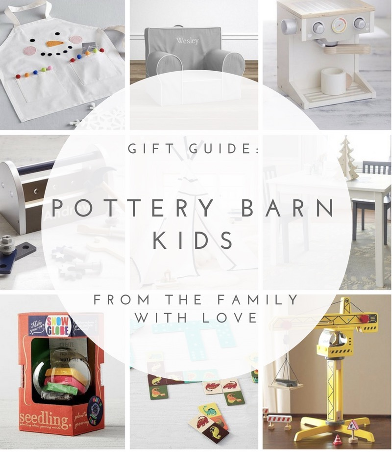 From the Family Gift Guide - Pottery Barn Kids Unisex - From the Family With Love
