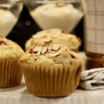 In the Kitchen with Stonyfield_ Cranberry Orange Almond Muffins - recipe - From the Family With Love-2