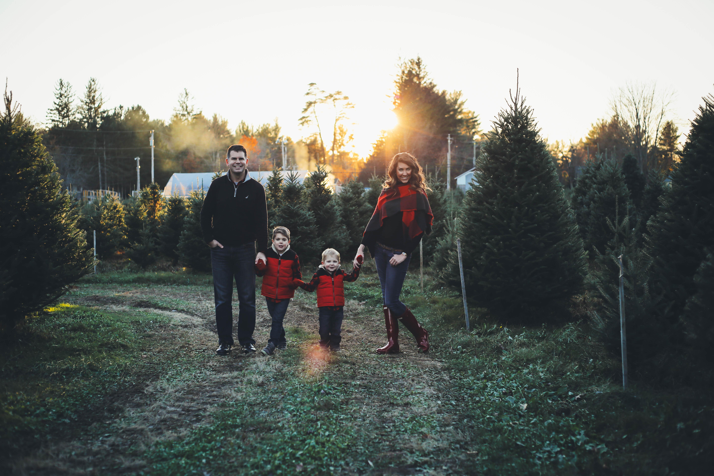 Christmas Plaid Scarf